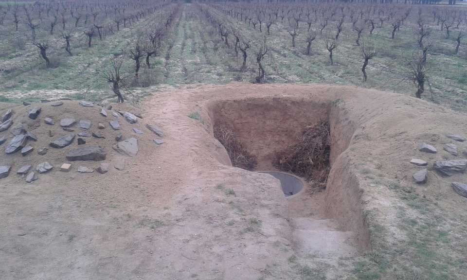 crianza enterrado